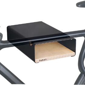 PARAX S-Rack Wandhalterung Aluminium schwarz/beige
